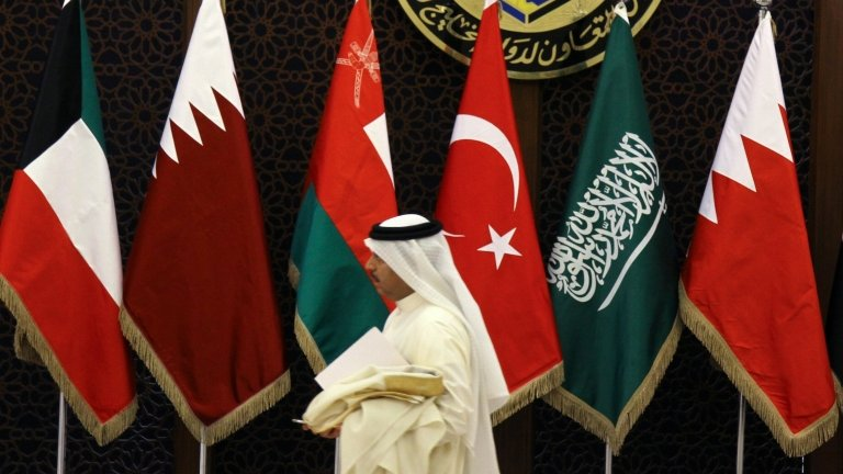 أعلام مجلس التعاون الخليجي