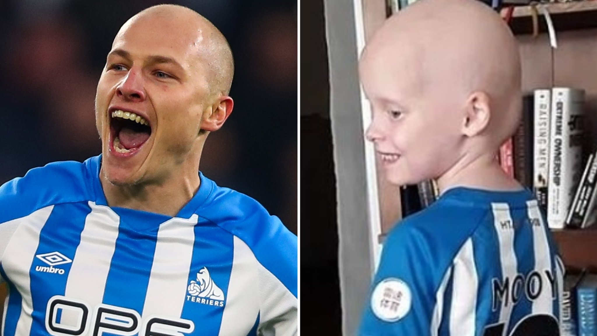 Huddersfield Town invite 'amazing' Bella to meet inspiration Aaron Mooy