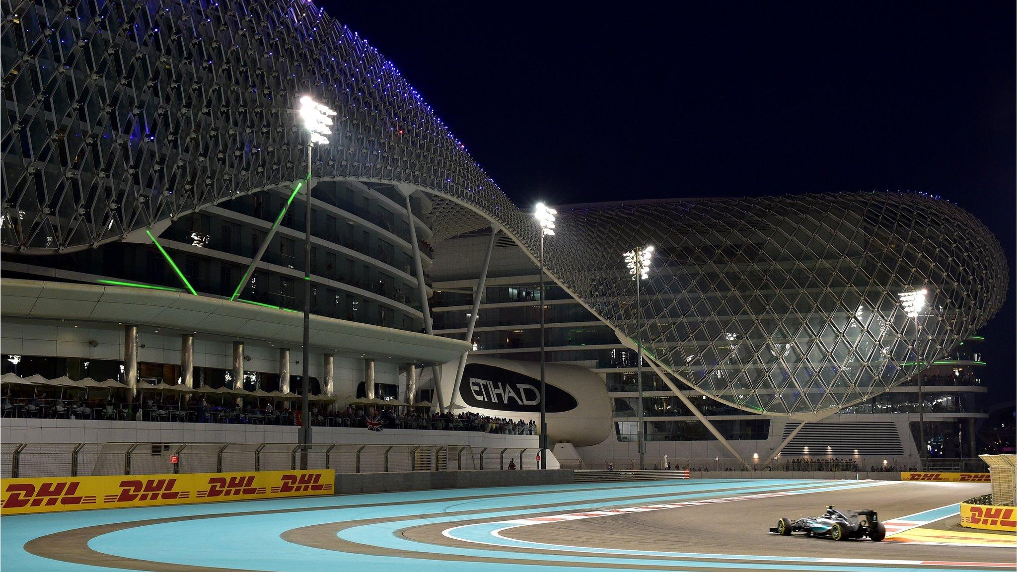 Relaxed and pristine Abu Dhabi masks tracks failings