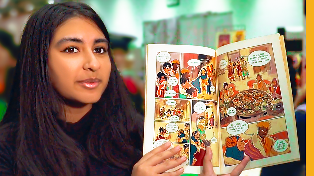 Getting South Asians into graphic novels
