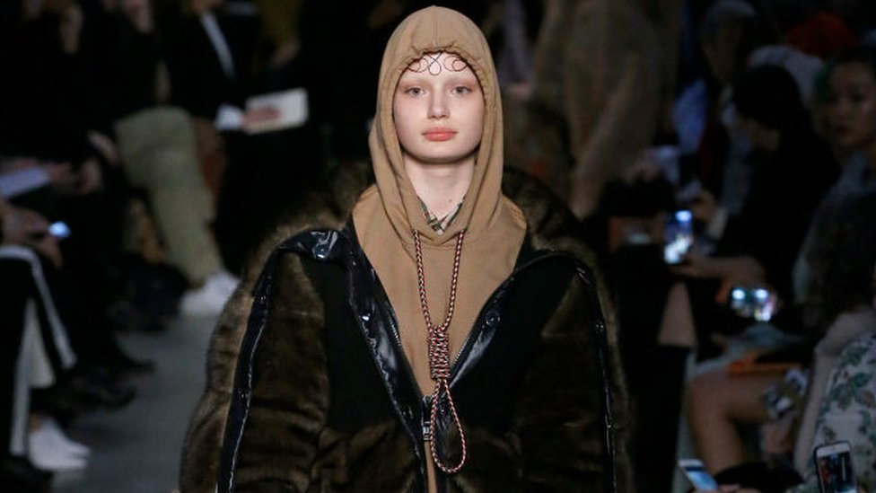Burberry sorry for 'suicide' hoodie with noose around neck