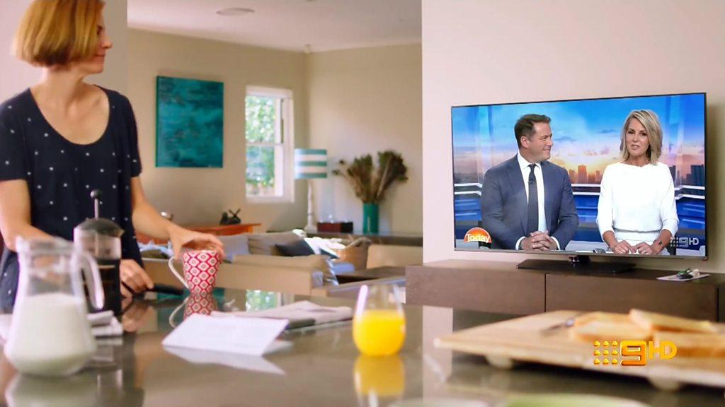 Australia's Channel 9 news promo looks like BBC's version