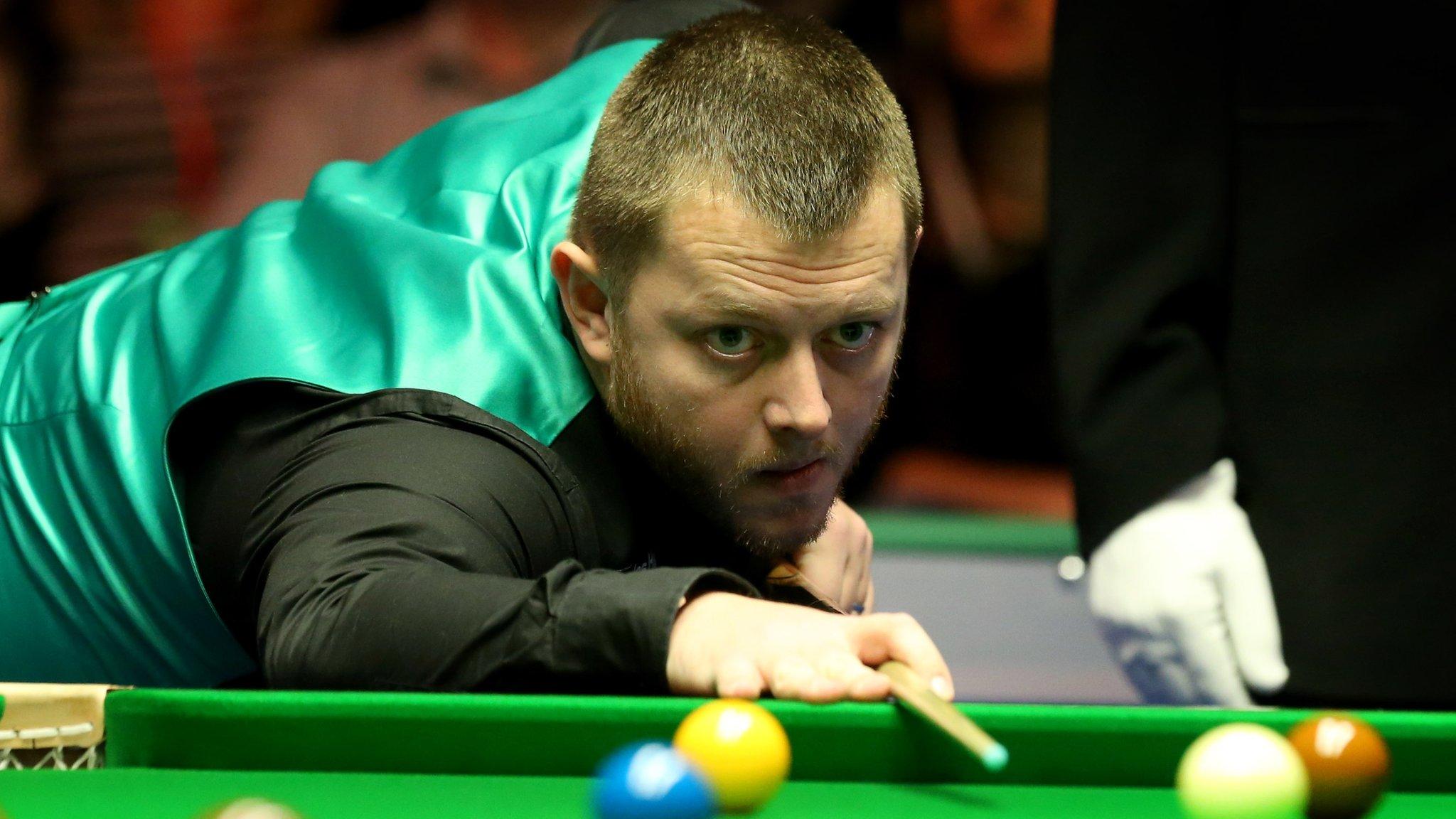 Northern Ireland Open: Mark Allen into round two but Shaun Murphy exits