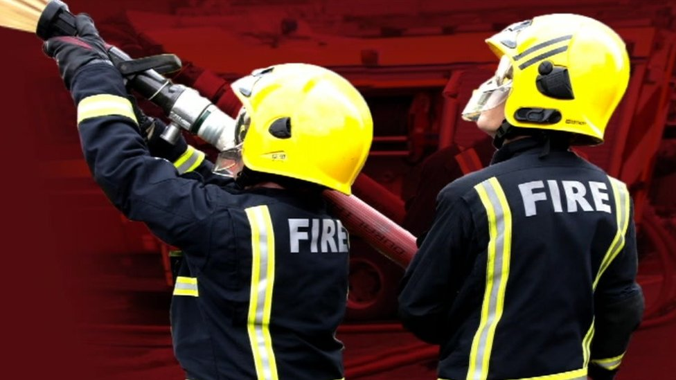Middlesbrough youths stood on fire crews' hoses