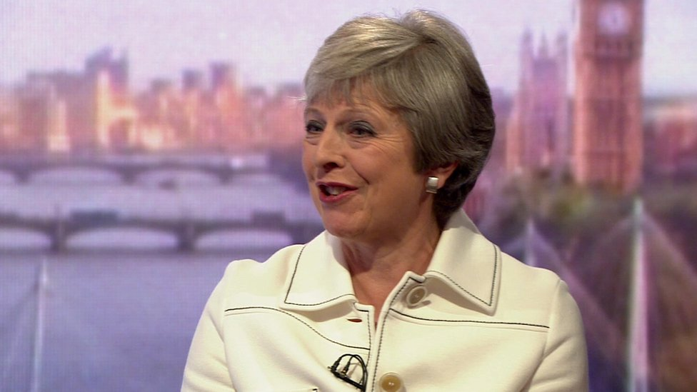 Theresa May: Trump told me to sue the EU