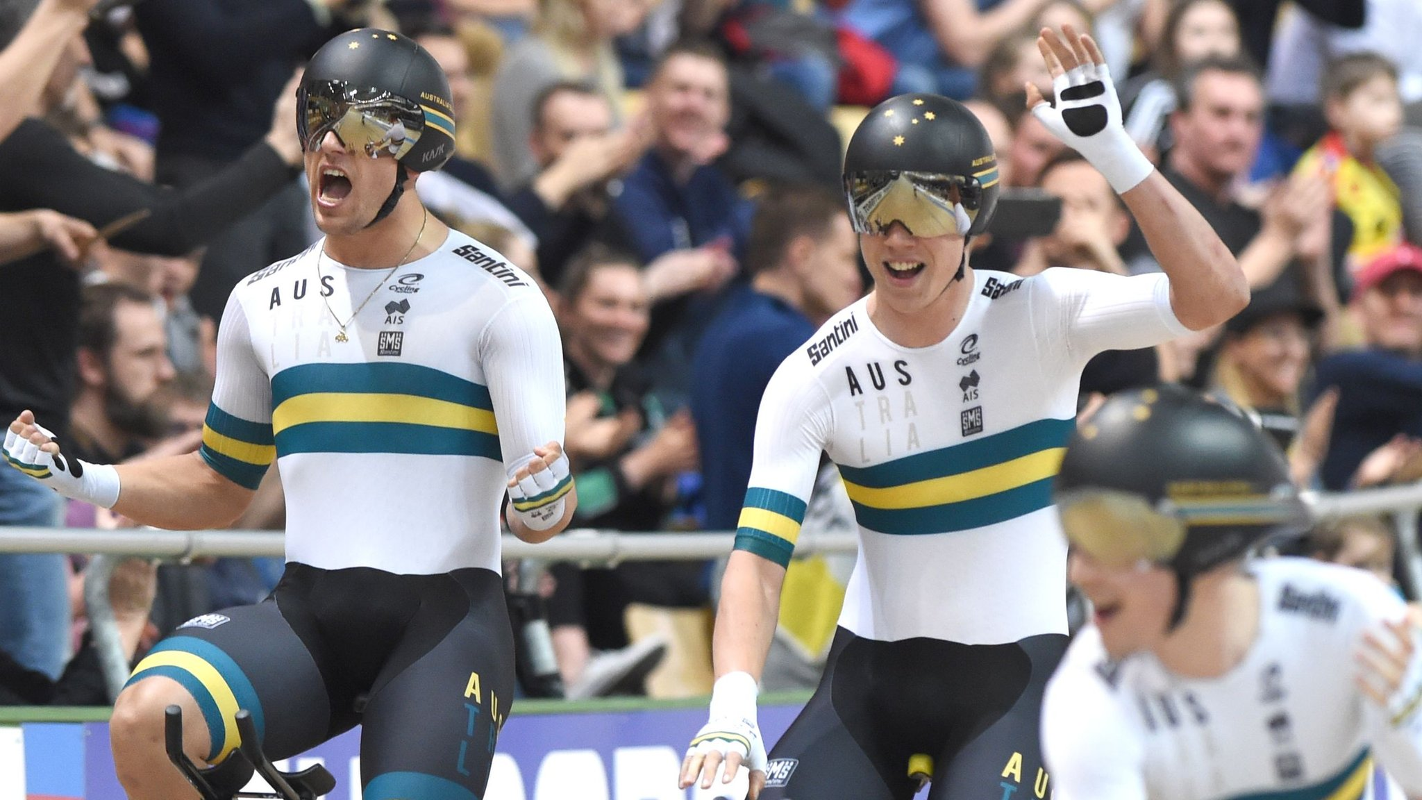 2019 Track Cycling World Championships: Great Britain take silver as Australia smash team pursuit world record