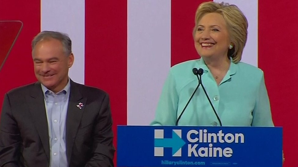 Tim Kaine: Hillary Clinton unveils running mate