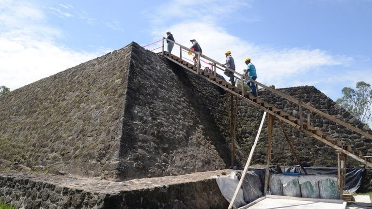 Mexico earthquake leads to discovery of ancient temple