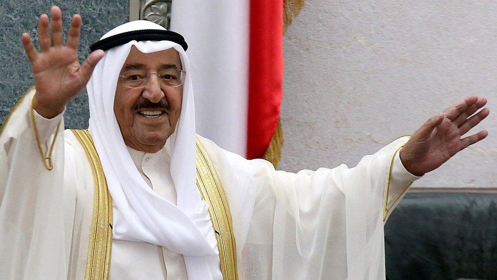 Emir of Kuwait Sheikh Sabah al-Ahmed al-Jaber al-Sabah