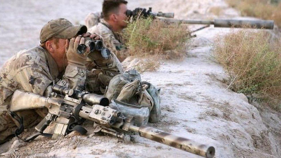 Канадський снайпер в Іраку вбив бойовика з відстані майже 3,5 км