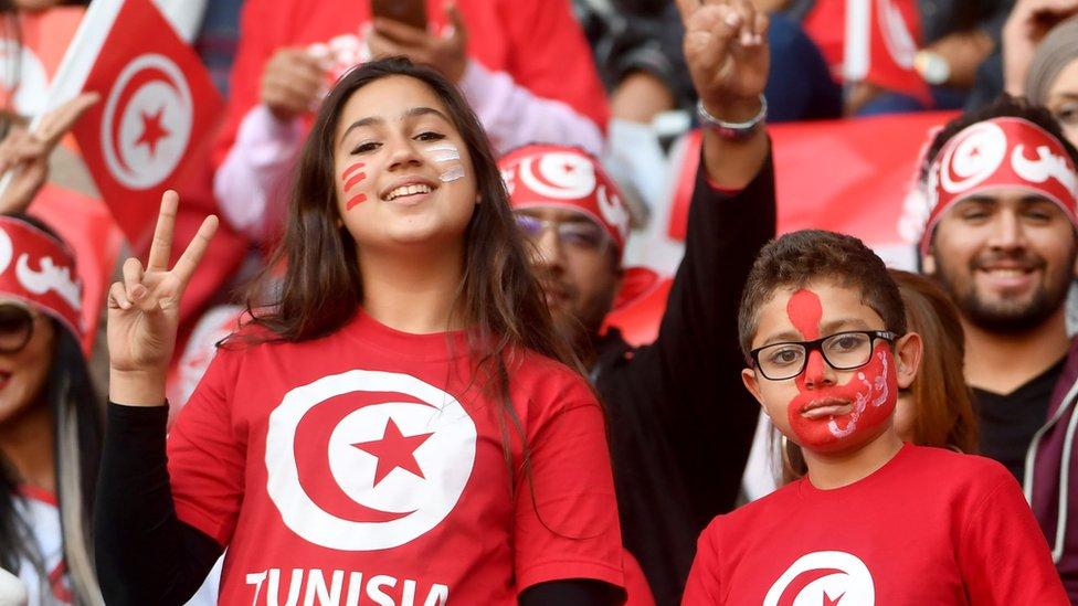 مشجعين من تونس
