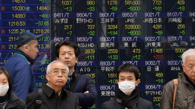 Shares in Asia mostly up on Tuesday, beginning to recover some of Monday's losses.