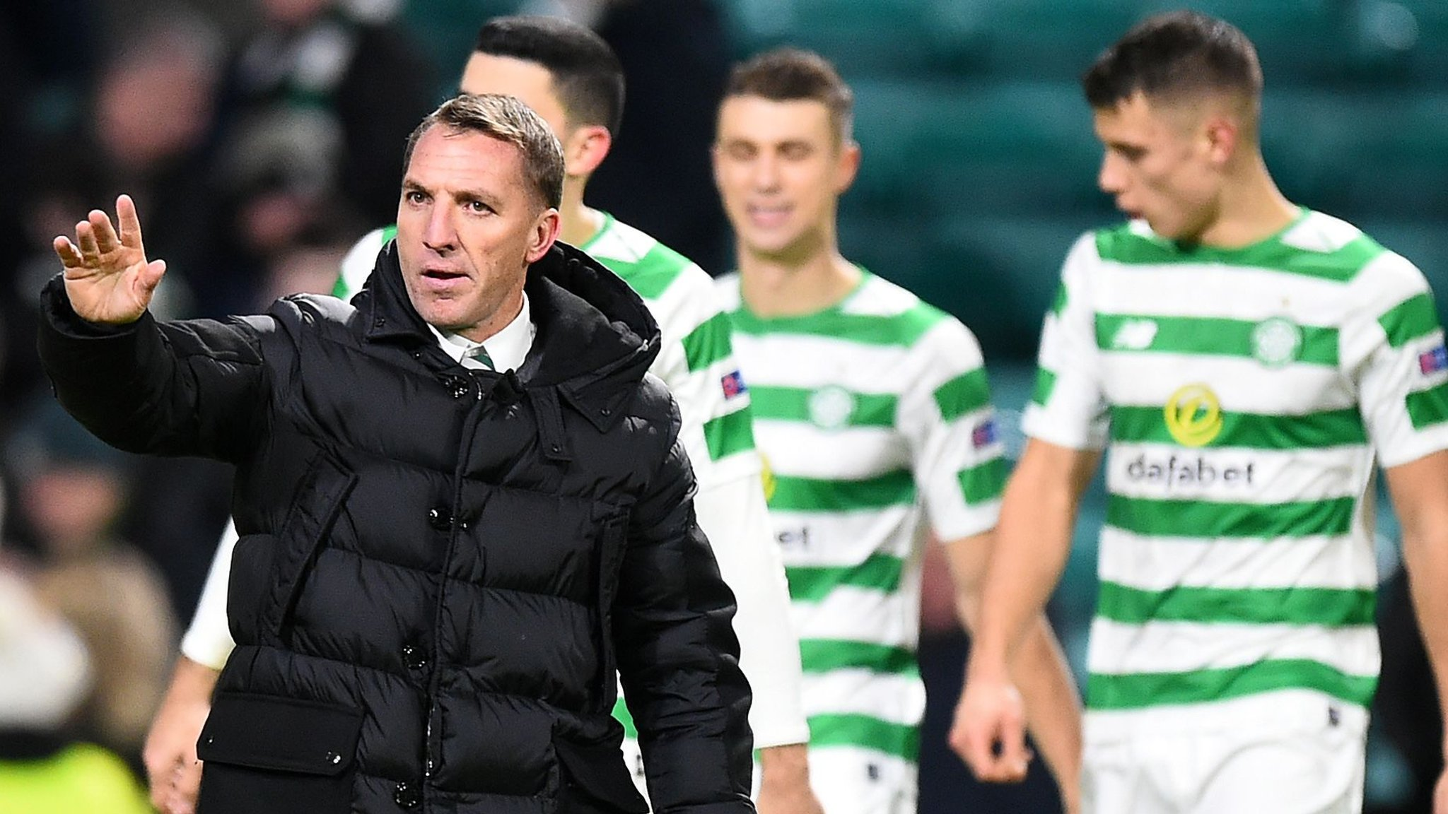 Celtic 1-2 Salzburg: Scottish champions squeeze into Europa League last 32