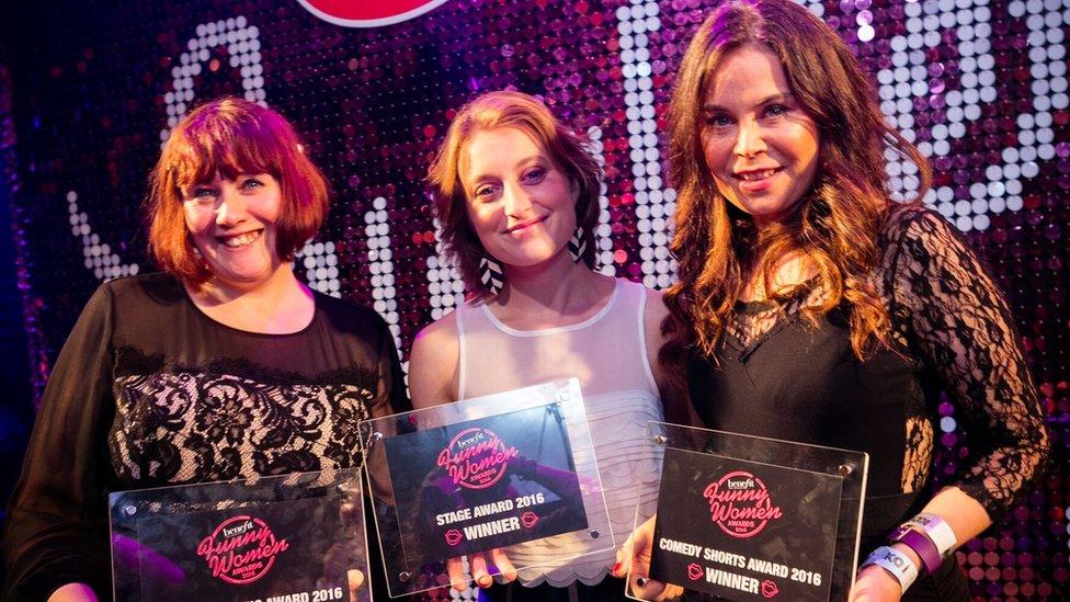 Funny Women award winners announced