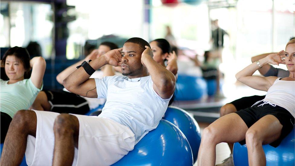 La expansión de los gimnasios contribuyó a la venta de productos nutritivos para deportistas.