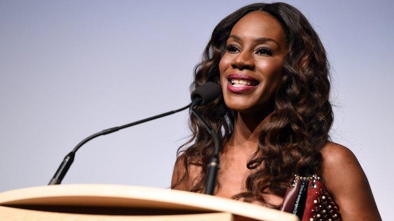 BBC News - Oscars diversity won't change overnight, says Amma Asante
