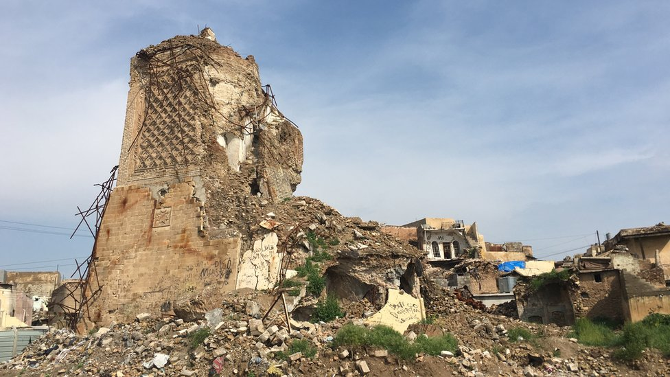 Mosul: A city still in ruins, two years after defeat of IS