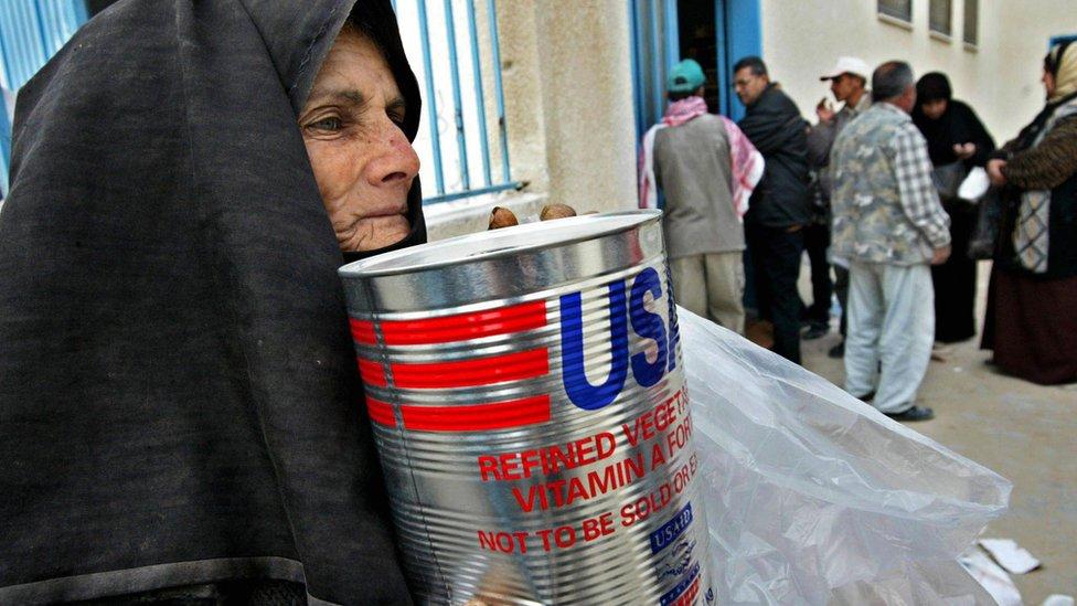 Ayuda a los palestinos