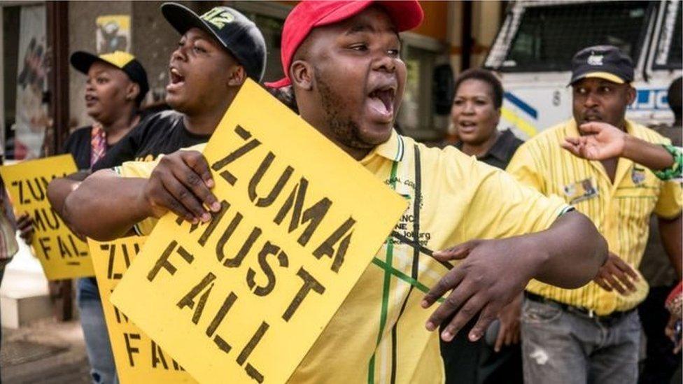 Dengan menurunkan Zuma, partai ANC berharap pamornya naik untuk pemilu 2019