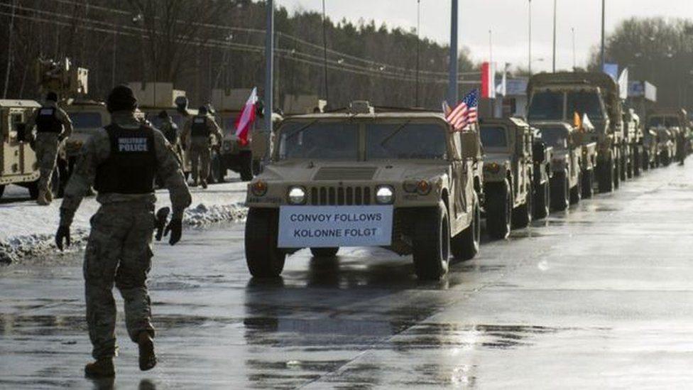 Tropas estadounidenses en Polonia