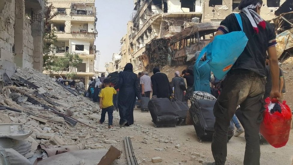 Syrian war: US and Russia 'achieve clarity on path forward'