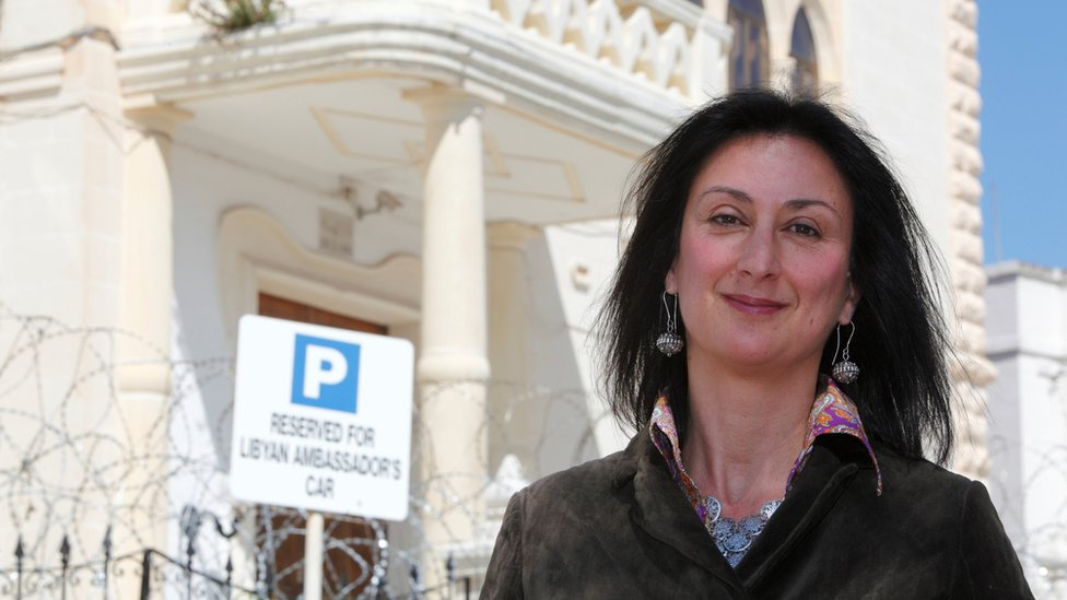 Malta journalist death: Caruana Galizia's son hits out