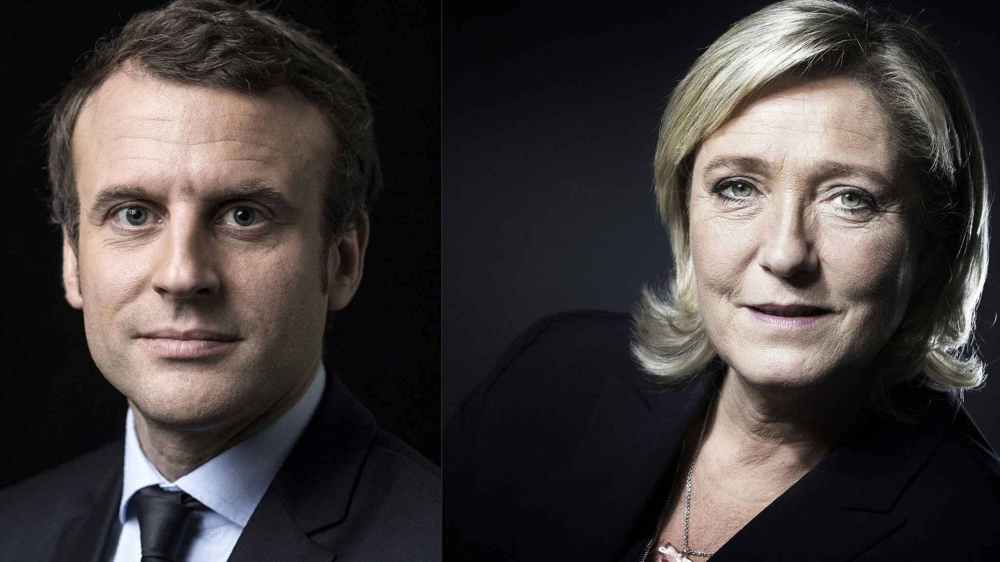 French election: Emmanuel Macron and Marine Le Pen to fight for presidency