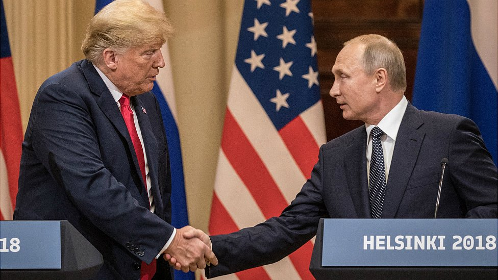 Trump sides with Russia against FBI at Helsinki summit
