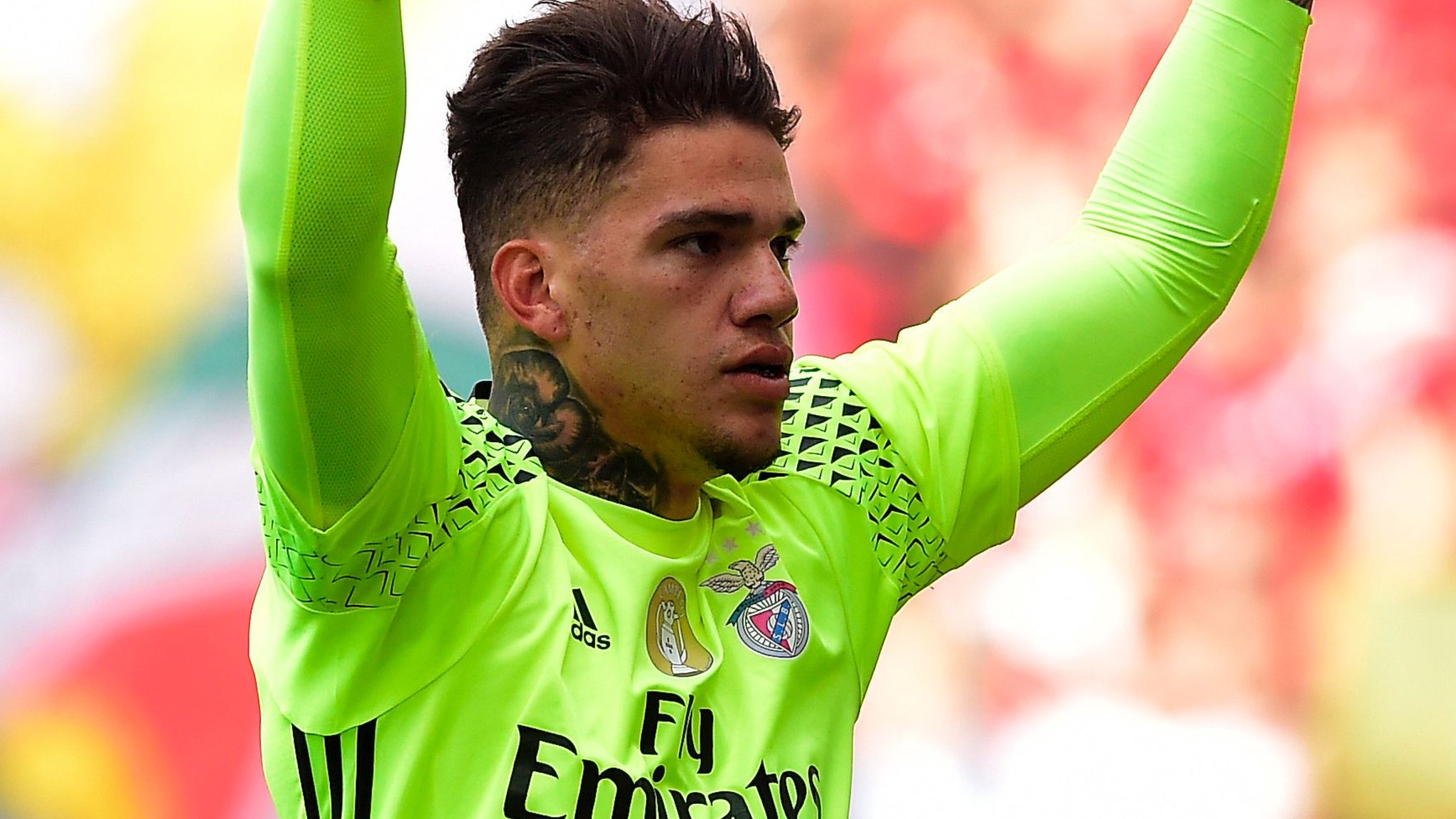 Ederson Moraes: Manchester City close to signing Brazilian goalkeeper from Benfica