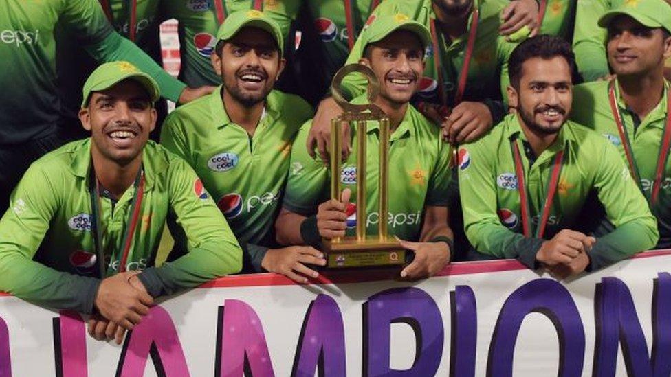 'پاکستان کرکٹ کی ستے خیراں'