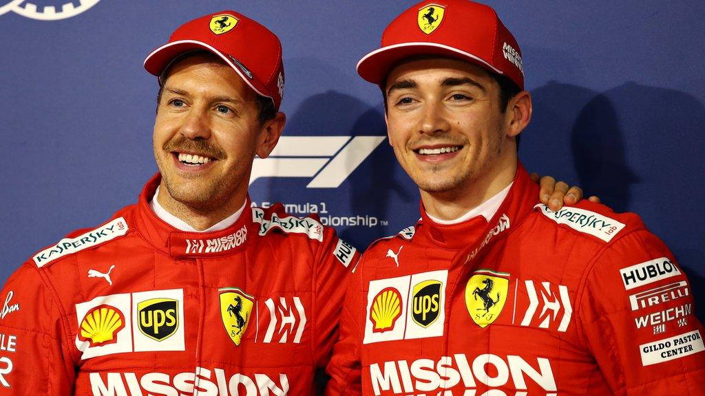 Ferrari wrong to favour Sebastian Vettel over Charles Leclerc, ex-driver Gerhard Berger says