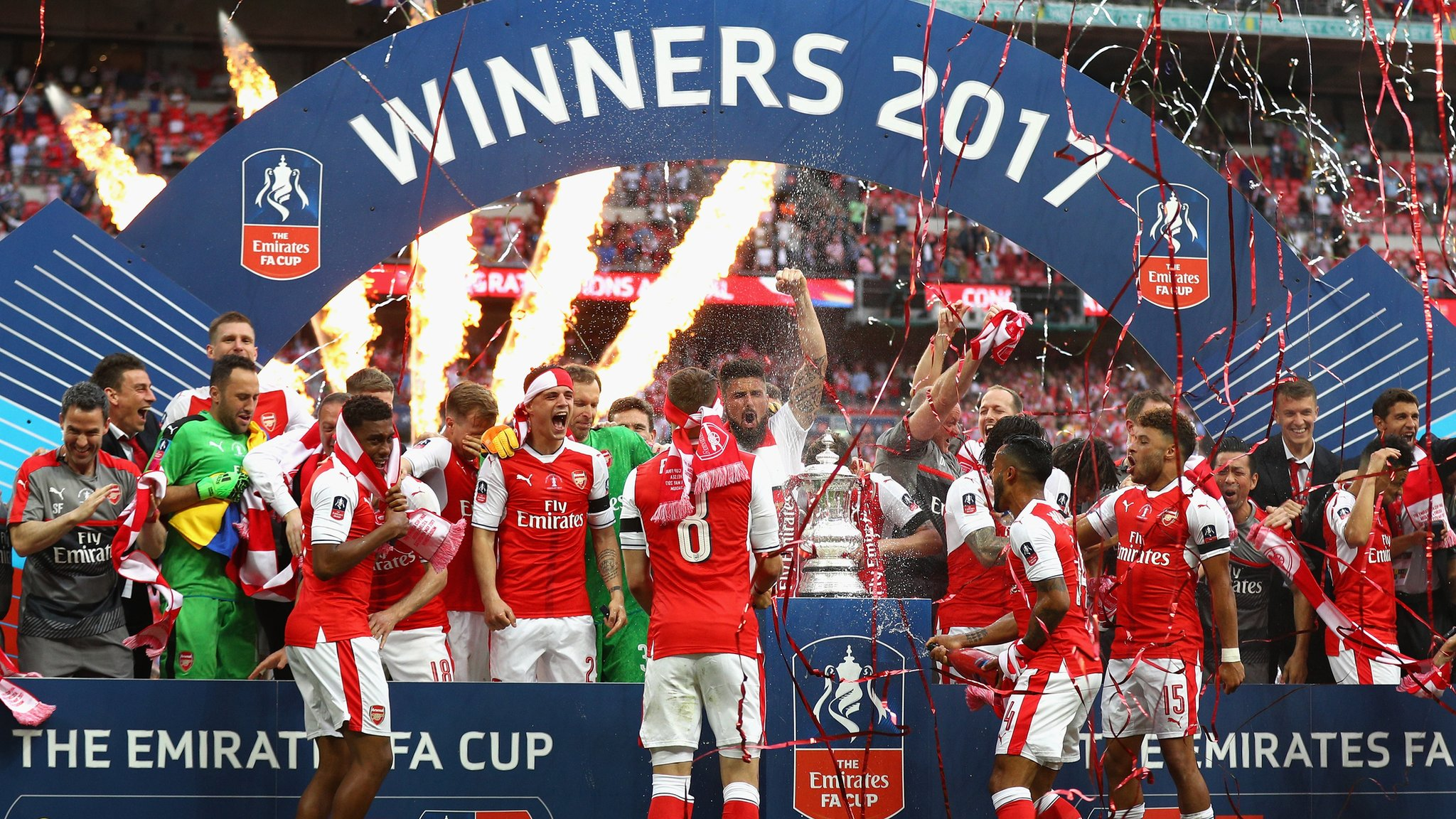 Arsenal win FA Cup for record 13th time