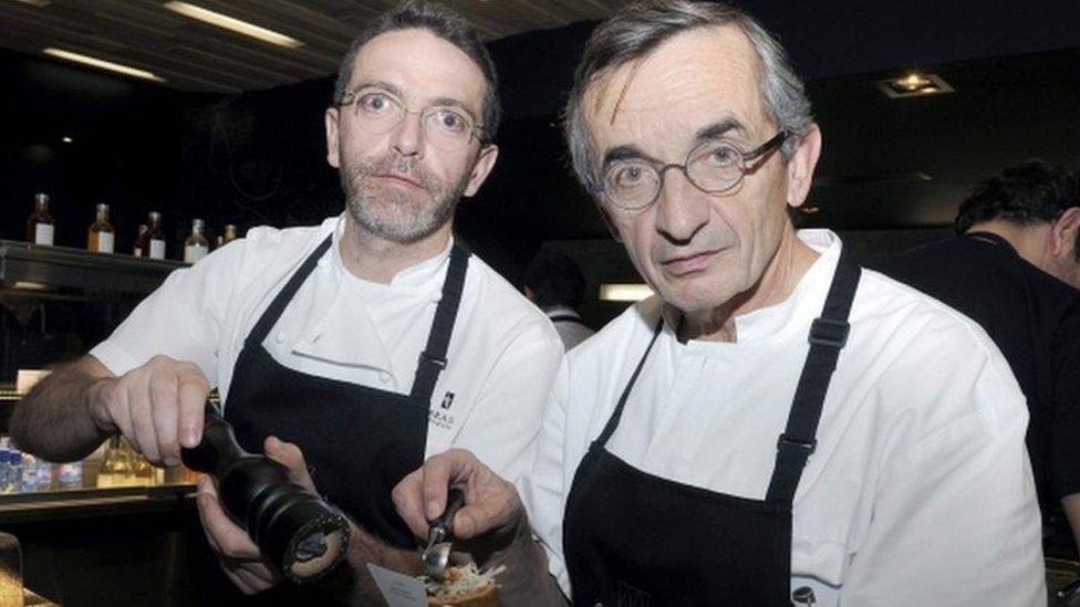 Кухар просить забрати в його ресторану зірки Мішлен