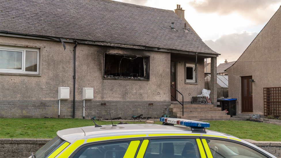 Man, 76, dies in house fire in Macduff