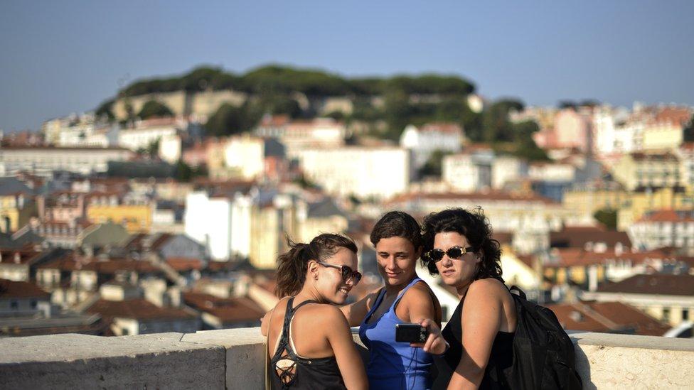 El turismo en Portugal va en aumento.