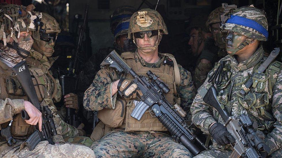 Algunos analistas creen que Pyongyang busca la retirada de las fuerzas de Estados Unidos de Corea del Sur.