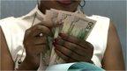 Zambian bank notes (kwacha)