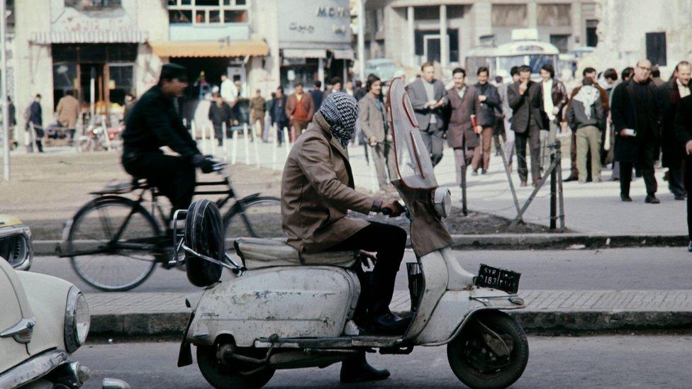 دمشق في سبعينيات القرن الماضي