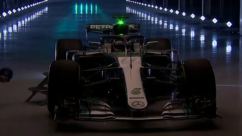 World champions Mercedes reveal their new car for 2018