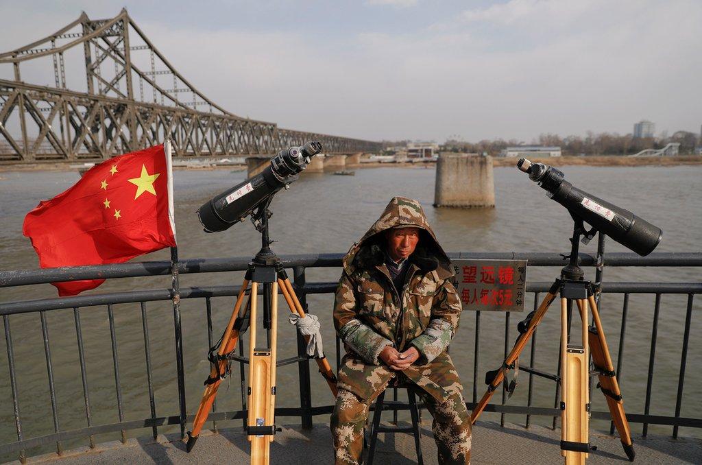 邊境城市丹東位於中國遼寧省的東南,與朝鮮隔江相望