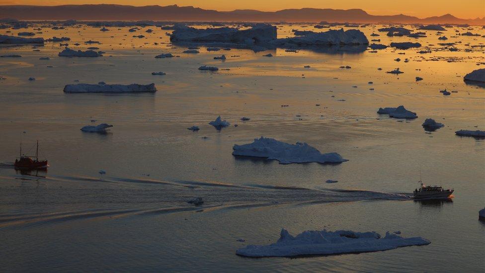 Ocho países tienen costa en el océano Ártico.