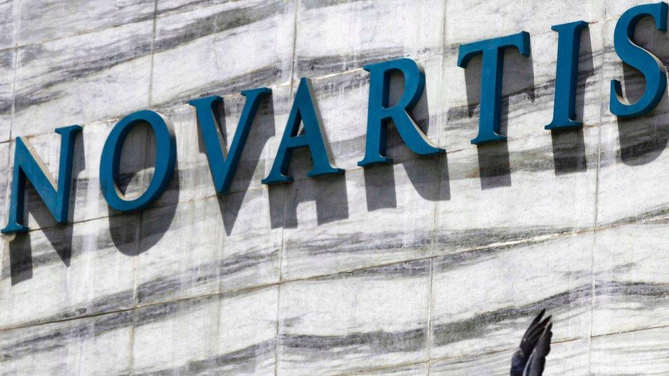 Sede de Novartis en India