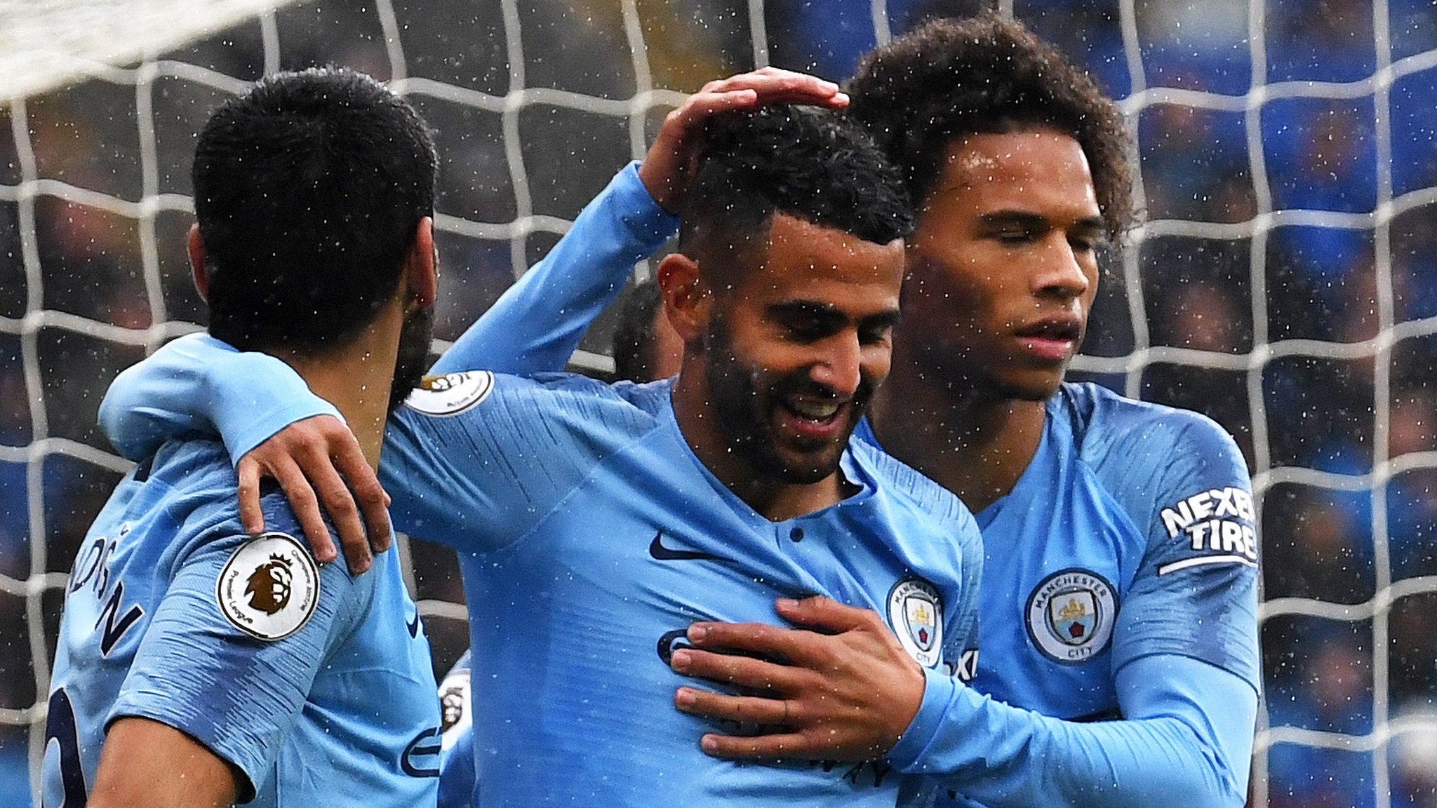 'Incredibly talented' Mahrez helps Man City thrash Cardiff
