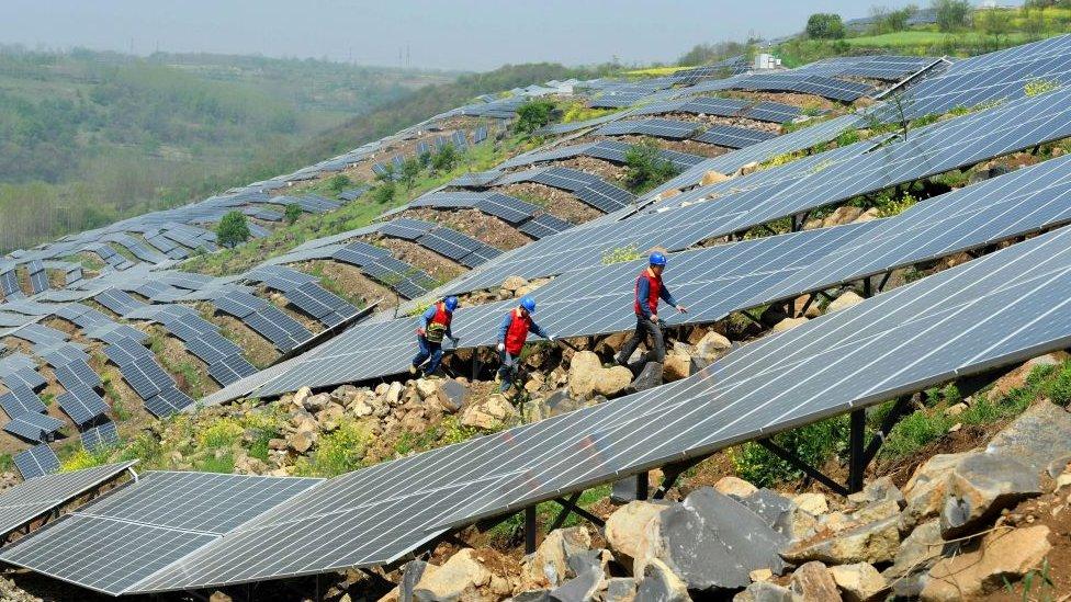Hace poco el gobierno de EE.UU. decidió imponer aranceles de importación de paneles solares desde China.