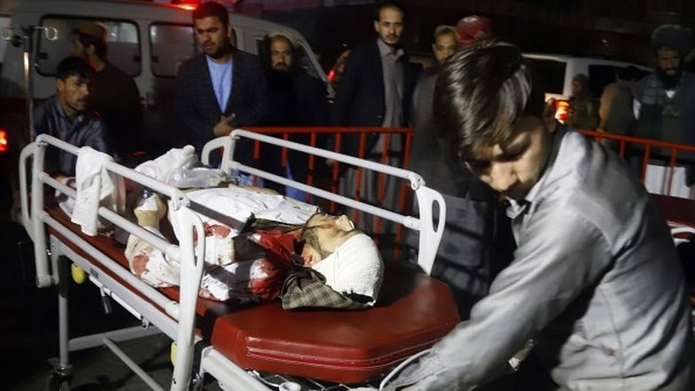 Kabul suicide bomber kills dozens at gathering of clerics