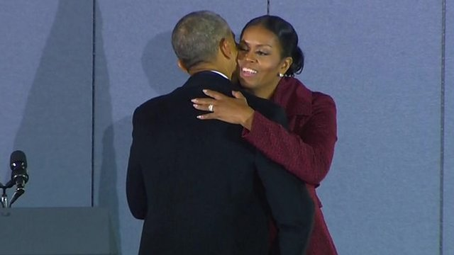 Barack Obama: 'Yes we did, yes we can'