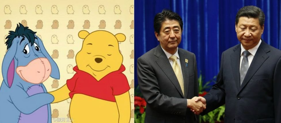 Winnie the Pooh dan Presiden Xi