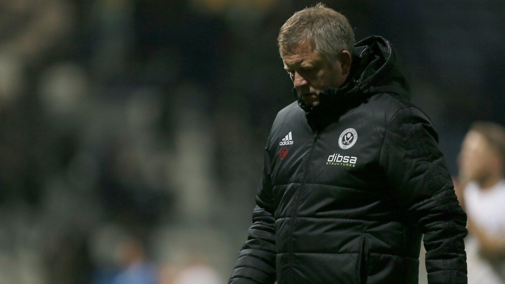 Chris Wilder: Sheffield United 'maybe didn't deserve respect', says Blades ...