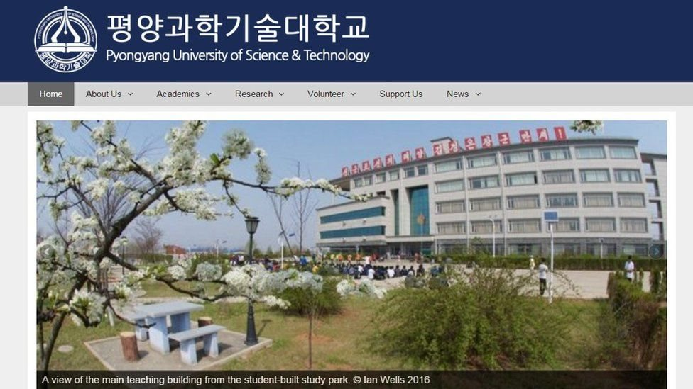 Đại học Bắc Hàn tiết lộ danh tính công dân Mỹ