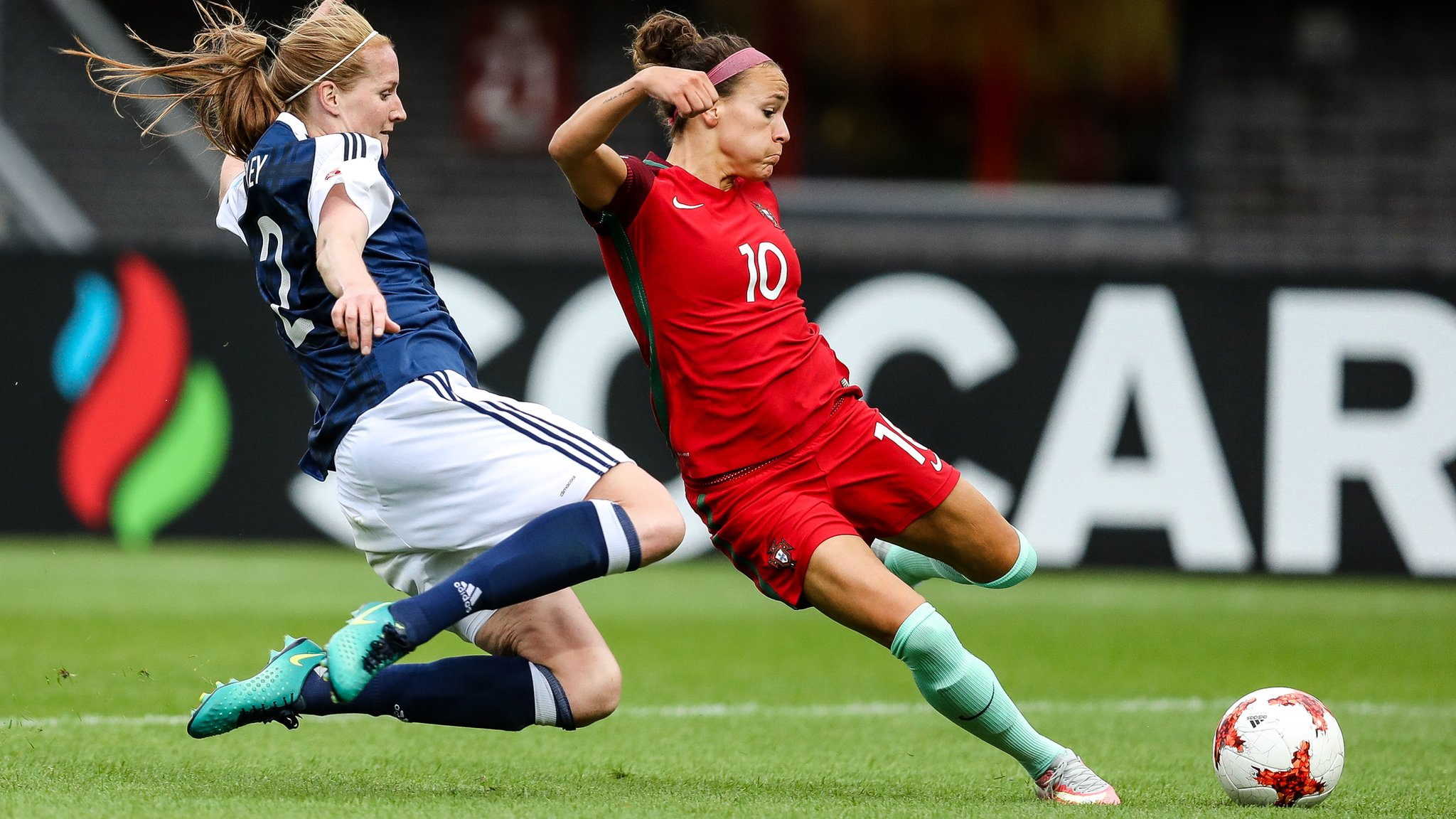 Scotland's Euro 2017 hopes alive despite defeat